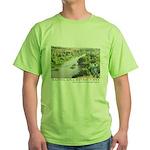Santa Ana River Yeti Green T-Shirt