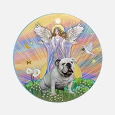 Blessings - English Bulldog 9 Ornament (Round)