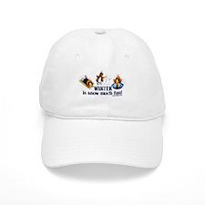 Snow Penguins Baseball Cap