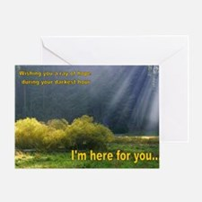 Greeting Card I'M HERE FOR YOU