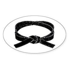 Black Belt Decal