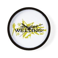 I ROCK THE S#%! - WELDING Wall Clock