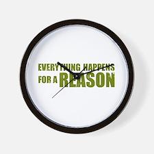 Lost - Reason Wall Clock