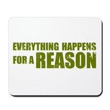 Lost - Reason Mousepad