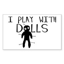 Play With Dolls Decal