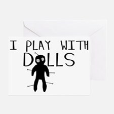 Play With Dolls Greeting Card