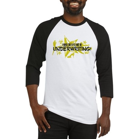 I ROCK THE S#%! - UNDERWRITING Baseball Jersey