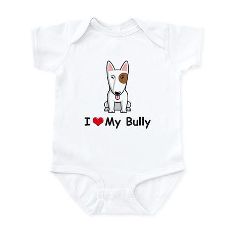 Bull Terrier Infant Bodysuit