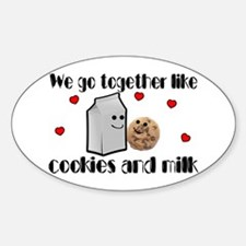 Cookies And Milk Decal