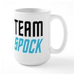 Team Spock Large Mug