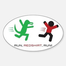 Run, Redshirt, Run! Decal