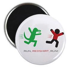 Run, Redshirt, Run! Magnet