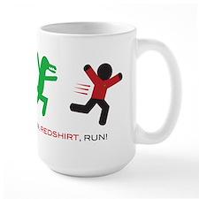 Run, Redshirt, Run! Ceramic Mugs