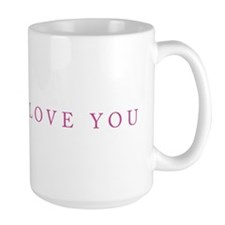 """One Heart (Pink)"" Mug"