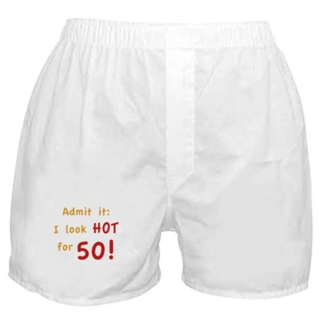 Sexy 50th Birthday Boxer Shorts