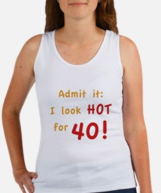 Sexy 40th Birthday Women's Tank Top