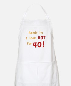Sexy 40th Birthday Apron