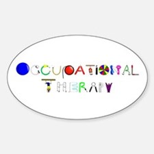 OT at work Sticker (Oval)
