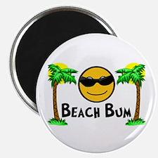"""Beach Bum 2.25"""" Magnet (10 pack)"""