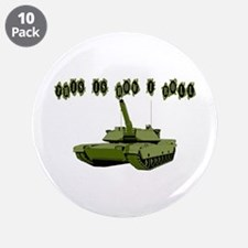 "How I Roll Tank 3.5"" Button (10 pack)"