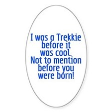 Star Trek Trekkie Cool Decal