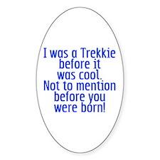 Star Trek Trekkie Cool Decal