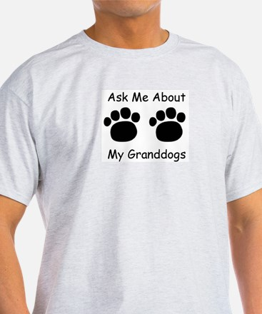 Granddogs Ash Grey T-Shirt