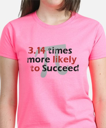 Pi Success Funny Math Tee