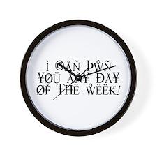 Pwn You Any Day Wall Clock