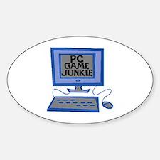 Game Junkie Bumper Stickers