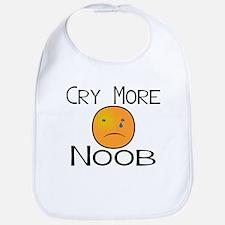Cry Noob Bib