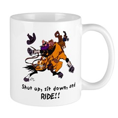 Western Bucking Horse Mug