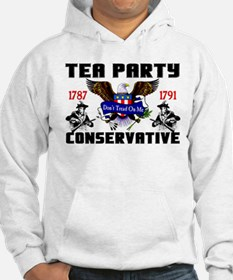 """Tea Party Conservative"" Hoodie"