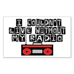 My Radio Decal