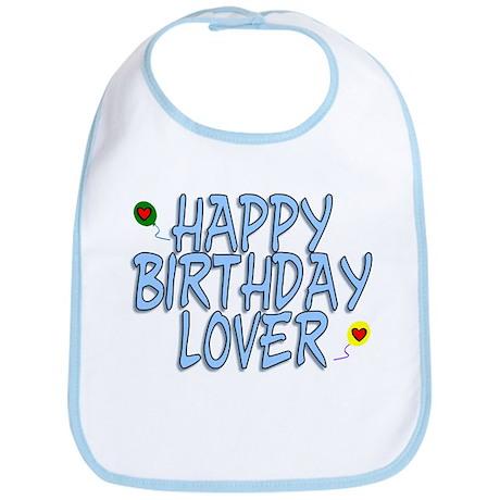 Happy Birthday Lover Bib