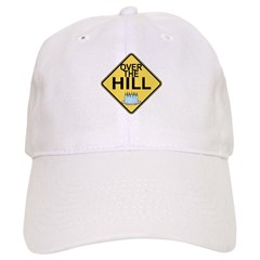 Over The Hill Baseball Cap