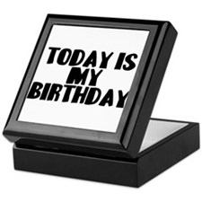 Birthday Today Keepsake Box