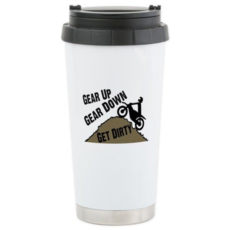 Get Dirty Stainless Steel Travel Mug