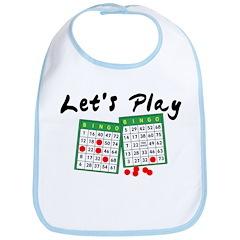 Let's Play Bingo Bib