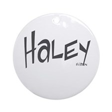 Haley Ornament (Round)