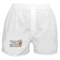High Fived Face Boxer Shorts
