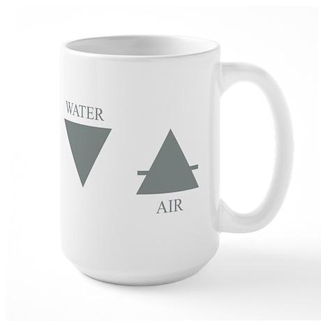 Elemental Symbols Large Mug