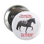 Peruvian Paso Stallion Button