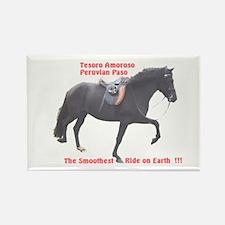 Rectangle Magnet (10 pack) Peruvian Paso Stallion
