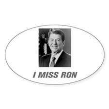 I Miss Ron Decal