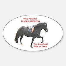 Sticker Oval, Curly Stallion