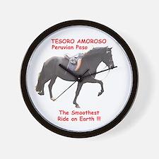 Wall Clock, Peruvian Paso Stallion