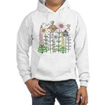 Cottage Garden Birdies Hooded Sweatshirt