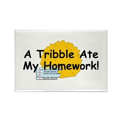 A Tribble ate my homework Rectangle Magnet (10 pac