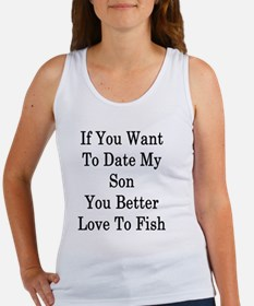 Funny Fisher sons Women's Tank Top